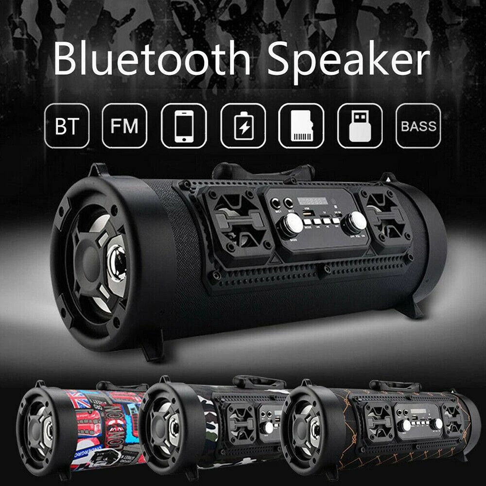 Portable High-Power Bluetooth Speaker(With call function And 4000MA)