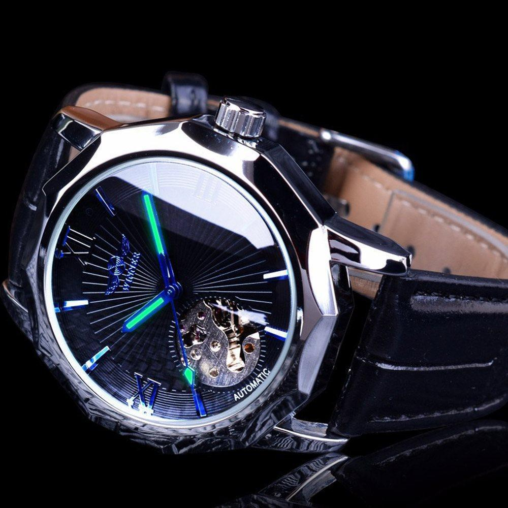 Hardlex Water Resistant Mechanical Hand Wind Watches