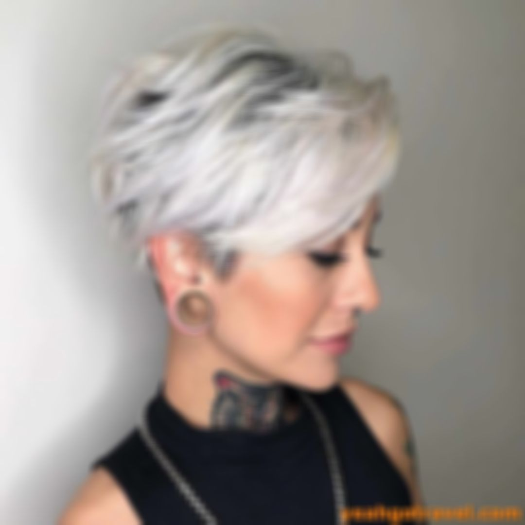 2021 New Lace Front Wigs Sia Wig White Grey Semi Permanent Hair Colour Best Professional Hair Color For Gray Hair
