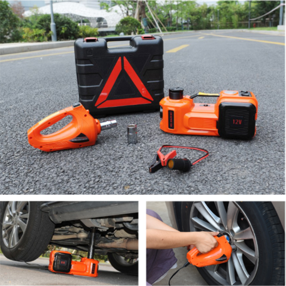 🔥🔥(Only 200 Sets Left) HOT SALE🔥🔥 Electric Hydraulic Jack/Electric Wrench/Multi-Function Toolbox