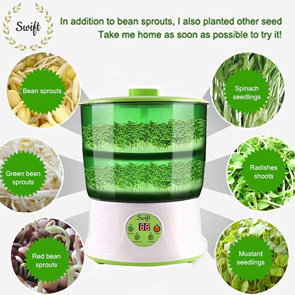 48% OFF Labor Day Promotion-Swift™ Automatic Sprouter Machine