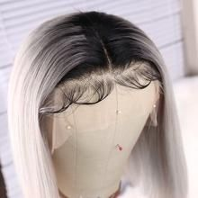 2020 New Gray Hair Wigs For African American Women Gray Salt N Pepper Wigs Orange Wig Dark Ash Grey Hair Colour Blonde Lace Front Blonde Full Lace Wig
