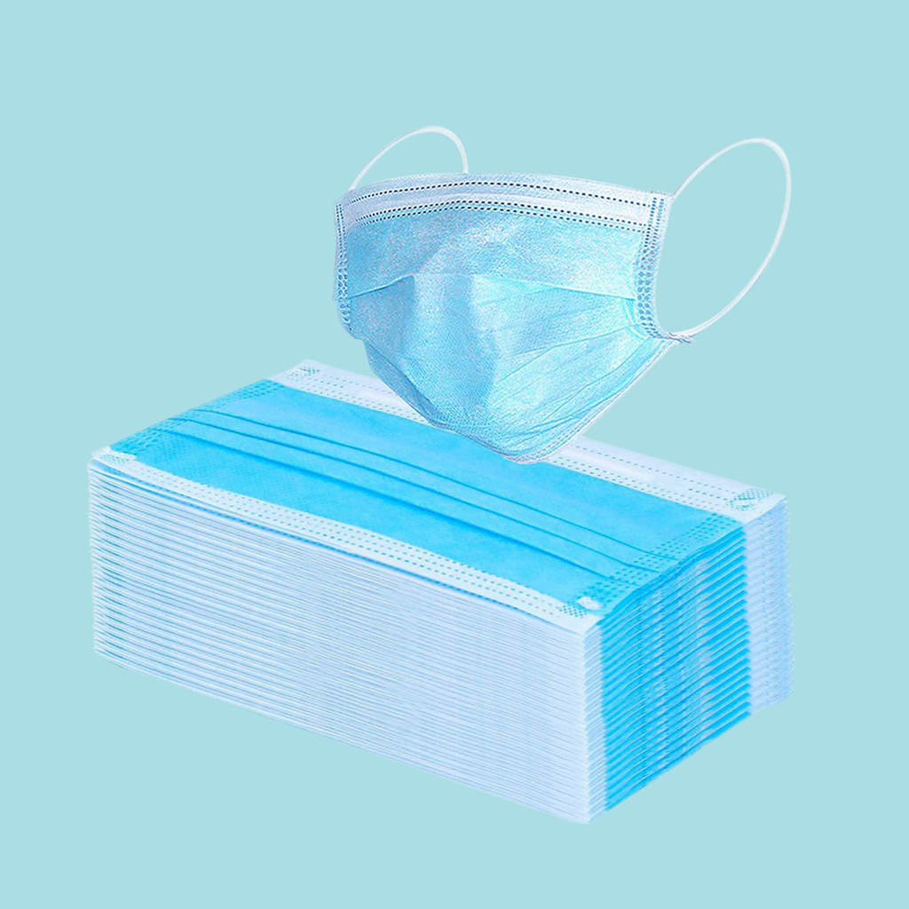 50PCS Medical & Disposable Face Masks - Surgical Mask【Official Store】