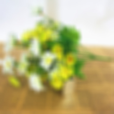 Artificial Flowers 1 Branch Pastoral Style Daisies Tabletop Flower