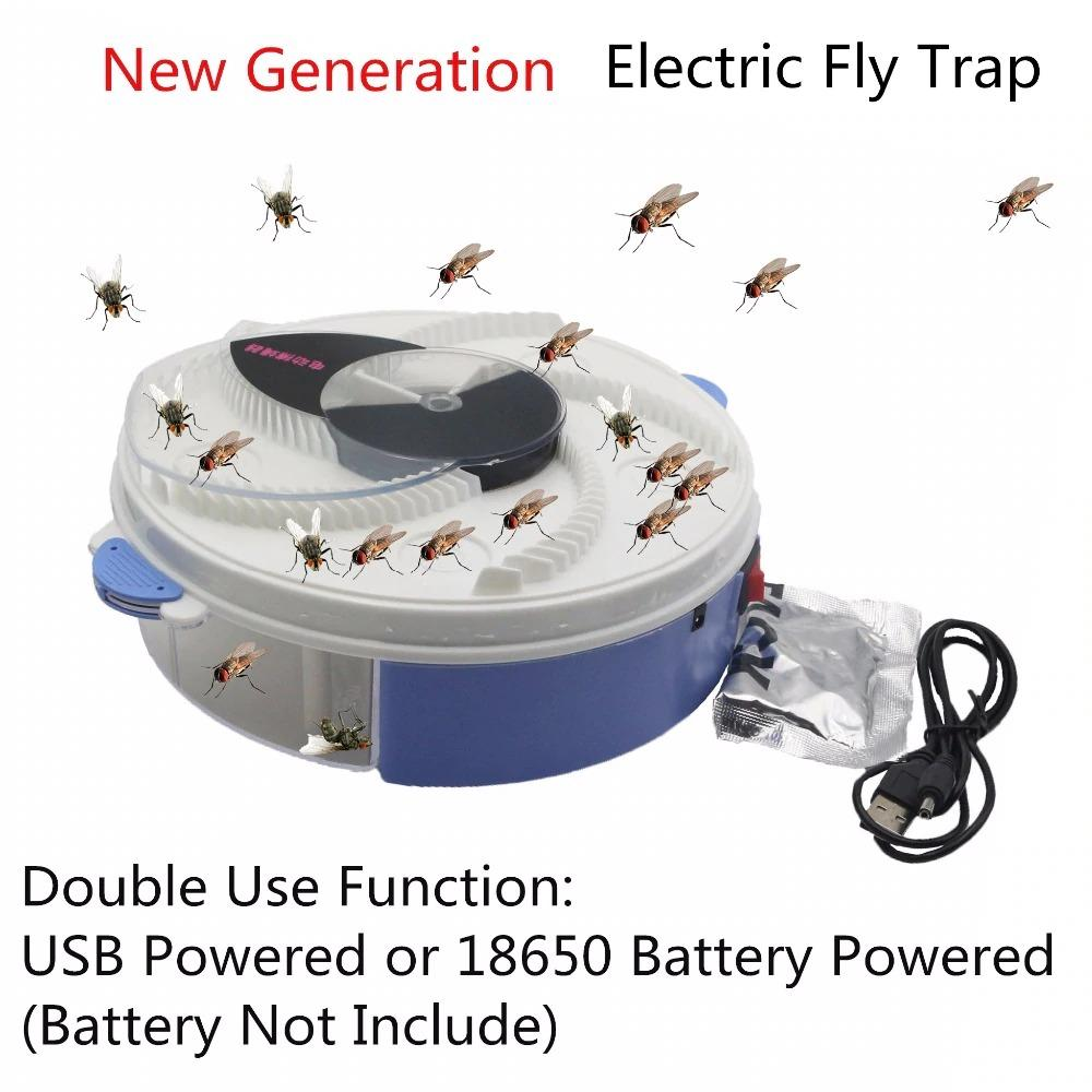 🔥Spring Special 49% OFF-Revolving Electronic Fly Trap