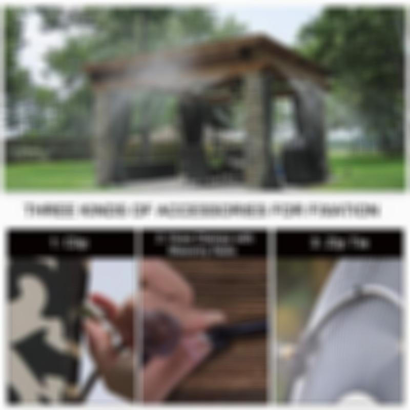 DIY Easy Installation-outdoor Misting Cooling System for Garden Backyard Patio Greenhouse Gazebo Waterpark