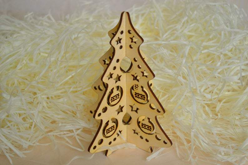 Wooden Christmas Tree Christmas Rustic Decoration Mini Christmas Tree Tabletop Christmas Tree Rustic Christmas Decor Christmas gift