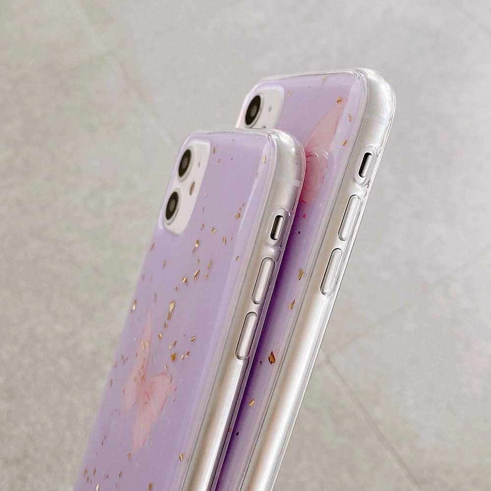 Purple Butterfly Case