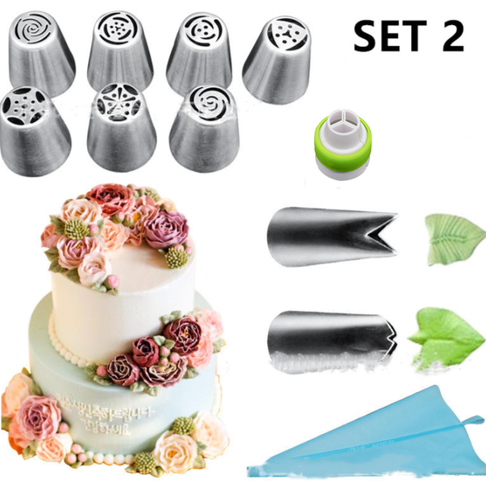 Cake Decor Piping Nozzle Set 【 50% OFF Today Only】