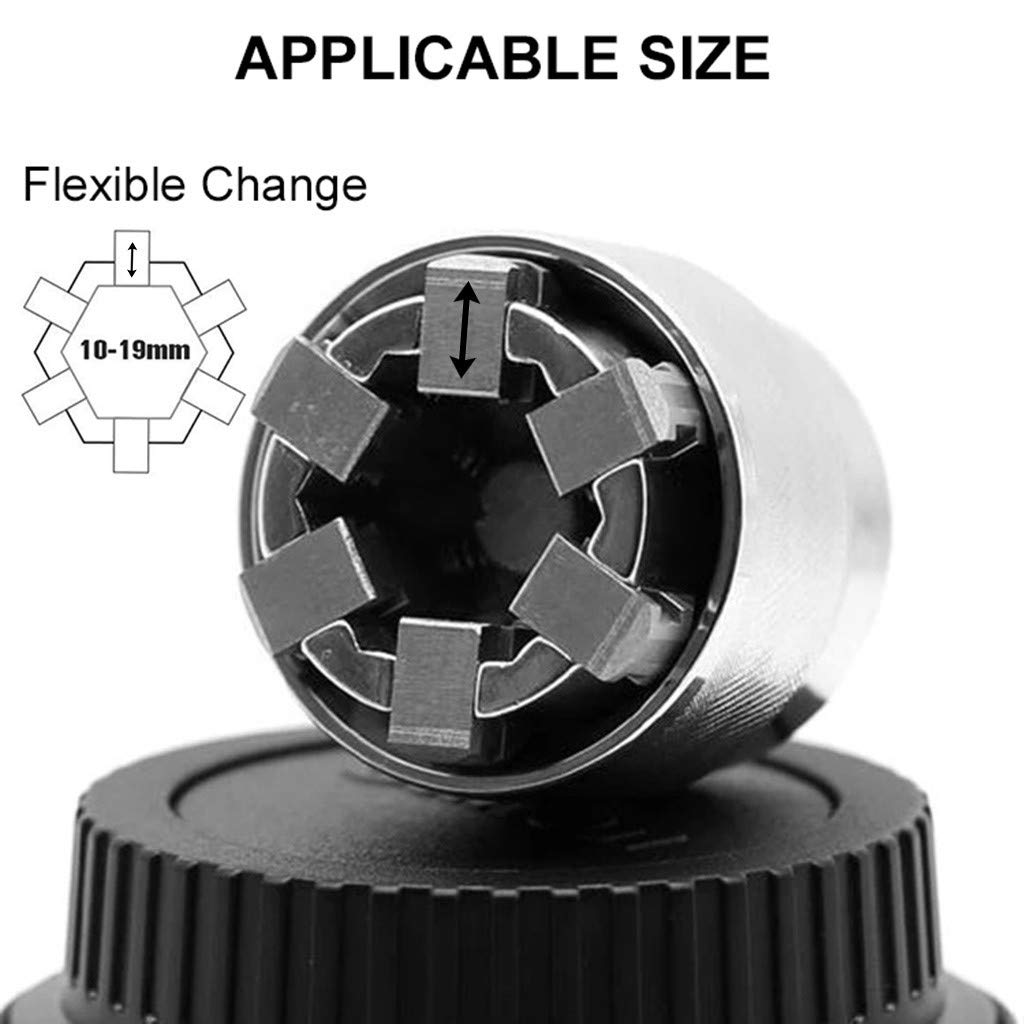 Wrench Adaptive Universal Socket All-Fitting Multi Drill Attachment Tools