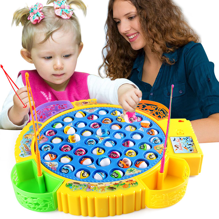 The most fun fishing toy, easy to operate