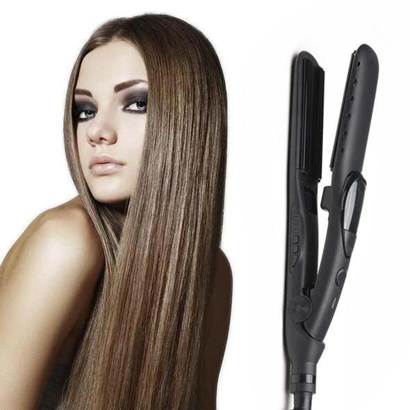 Steam Hair Straightener Curler 2 in 1