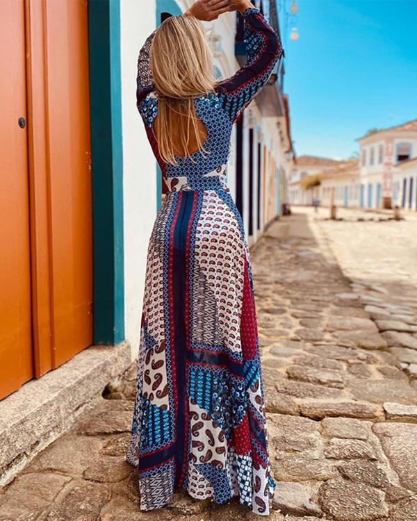 Boho Backless Dress