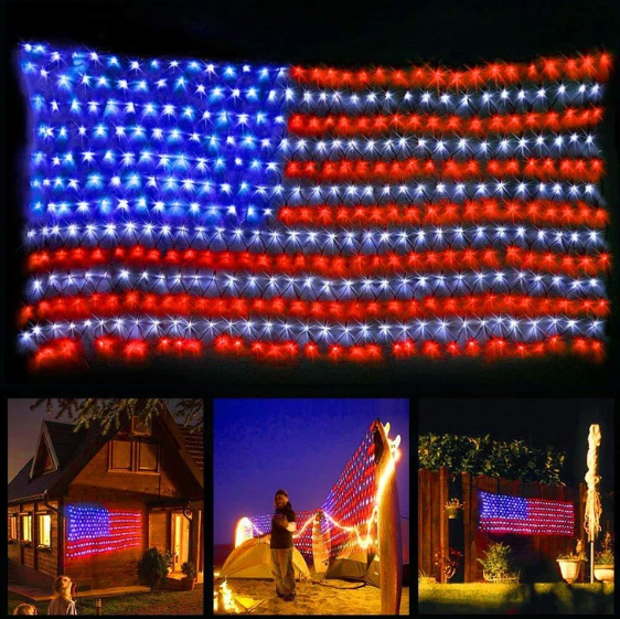 Net Lights of Independence Day ,Decoration Garden, Yard, Indoor and Outdoor