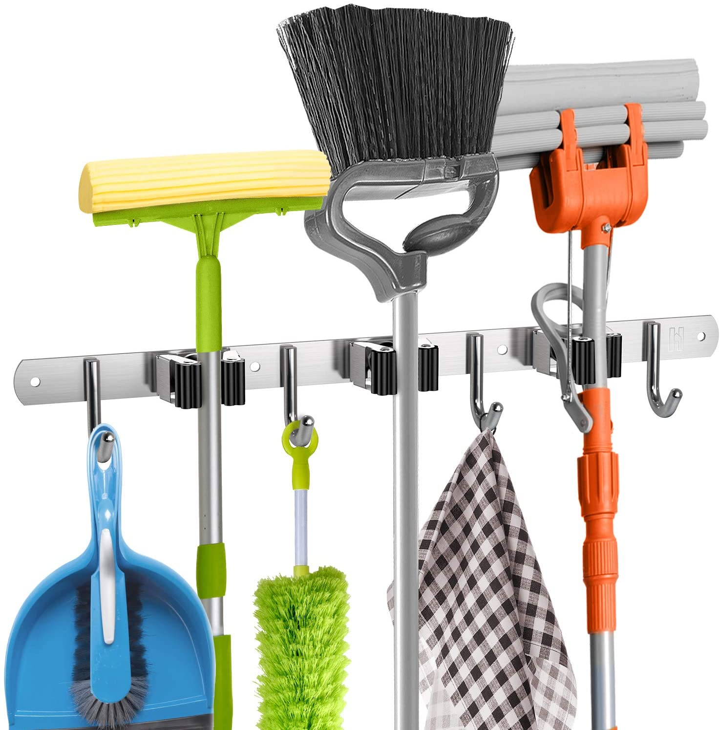 (Early Mother's Day Hot Sale-48% OFF)Self-adhesive Mop Garden Tool Organizer