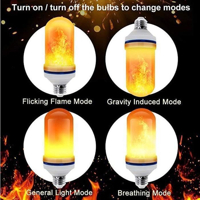 (💥New Year Big Sale💥-48% OFF)LED Flame Effect Light Bulb(Buy 5 get 5 free+free shipping)