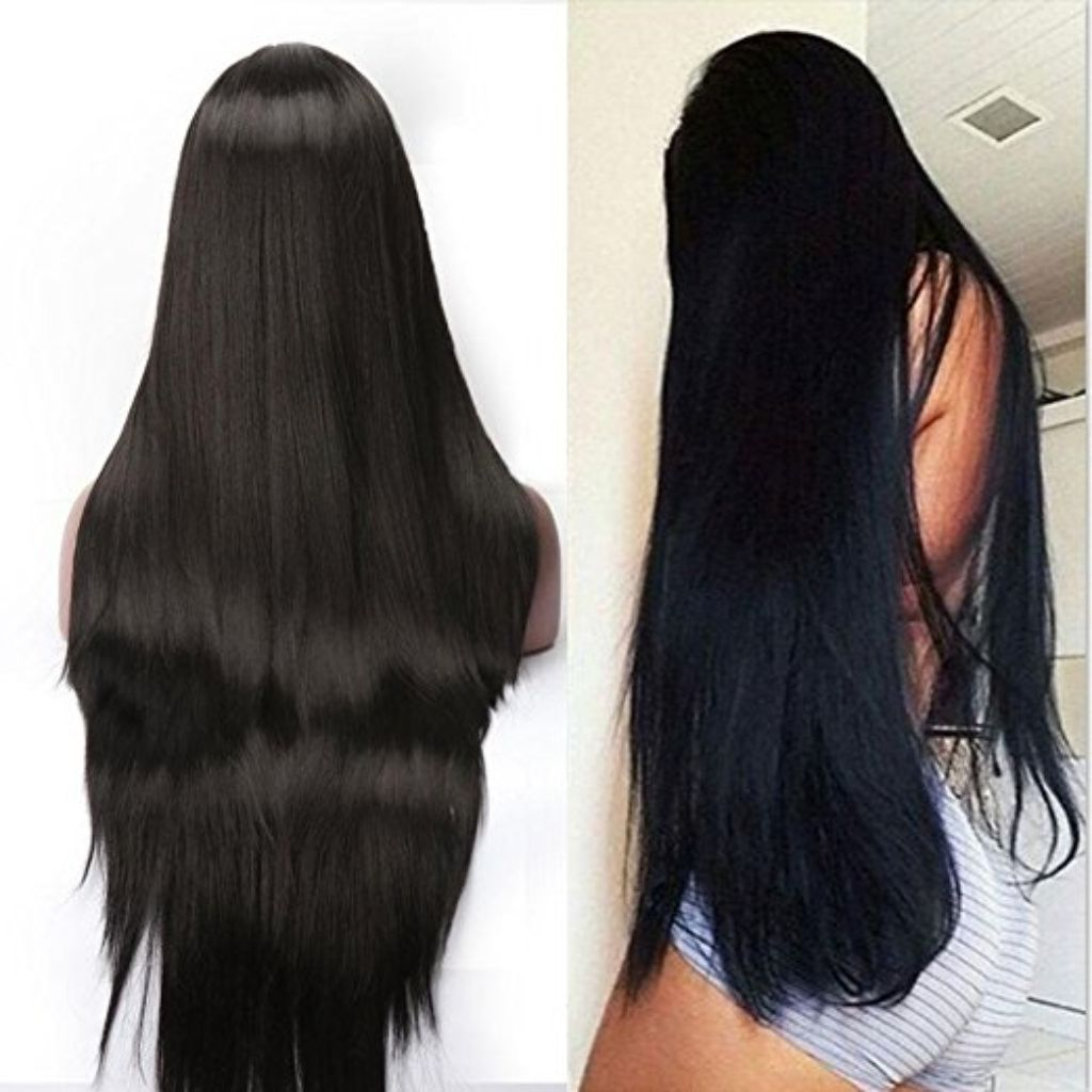 2020 New Straight Wigs Black Long Hair The Best Human Hair Weave For Black Women'S Hair Clip Ins For Straight Natural Hair