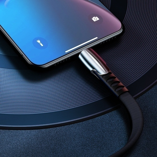 Luxury USB Cable for IPhone XS MAX XR X 7 8 SE for IPad Charging Wire Cord Charger Cable for Micro USB Android phones for Huawei Samsung Type-C Phone Charging Cord