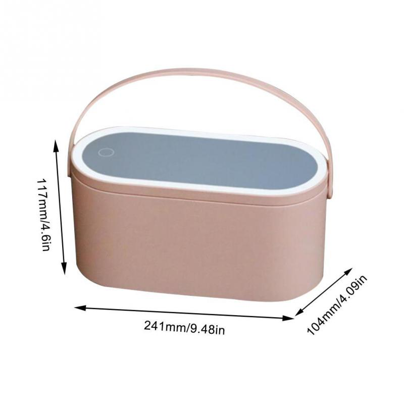 2020 Creative makeup box with LED mirror(50% off now)