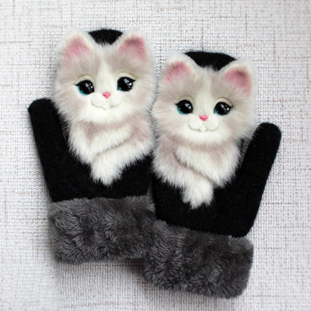 Animal Mittens - A Mother To Daughter Gift (Buy 2 & Get Free Shipping)