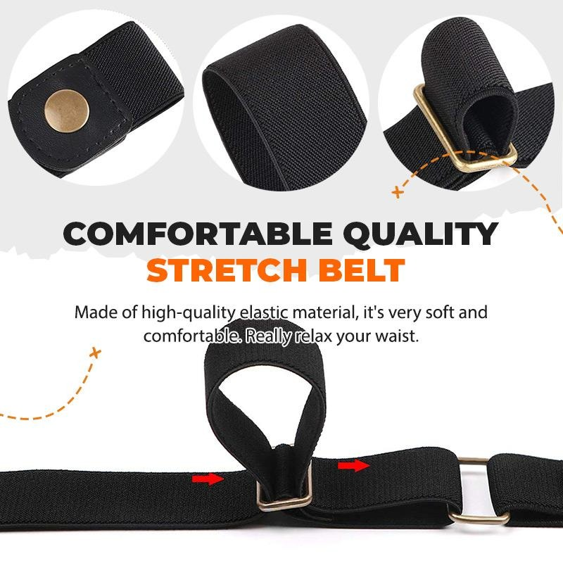 (❤️Father's Day Flash Sale - 65% OFF)Buckle-free Invisible Elastic Waist Belts