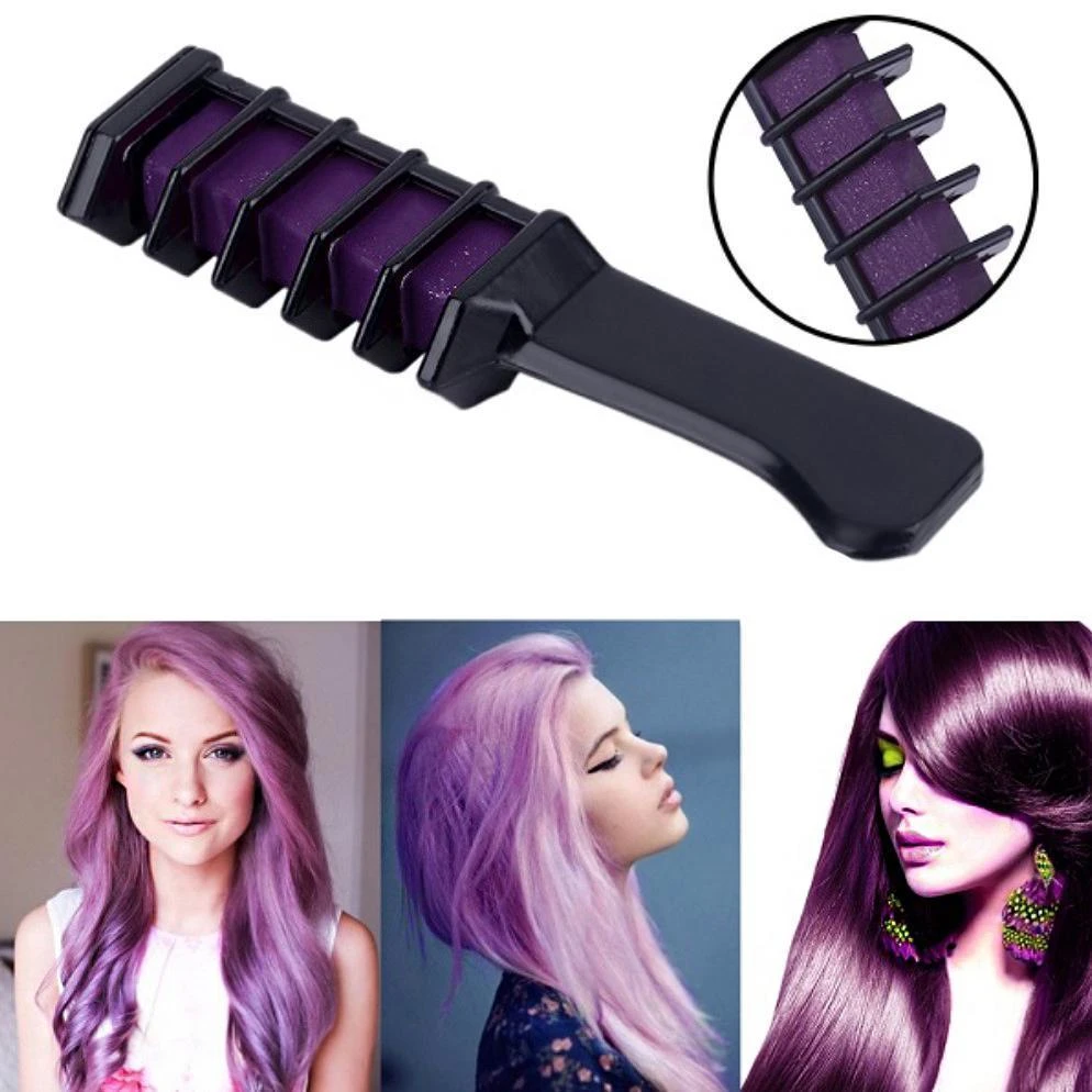 Beautifying Temporary Hair Dye Comb(6 Colors Only $35.99)