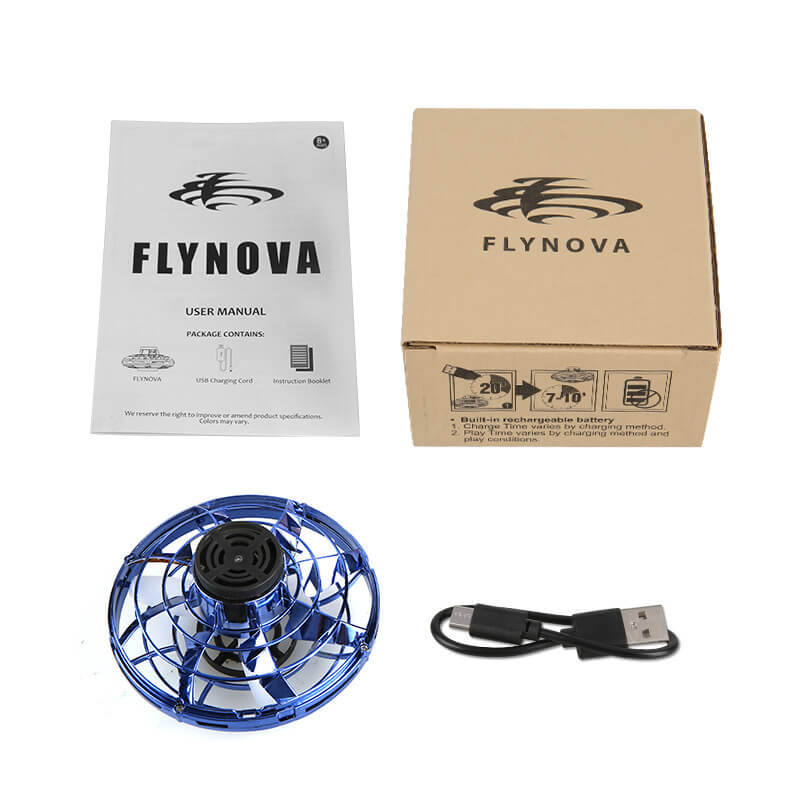 [Hot Selling!!]Hand Operated Flying Spinner for Kids or Adults