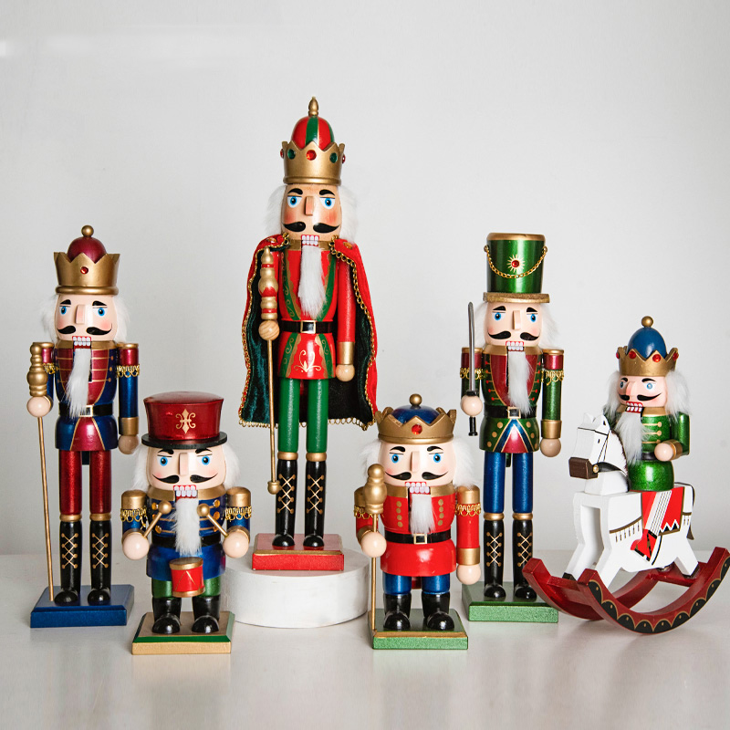 Nutcracker Theme Advent Calendar-- The One With 24 Little Doors