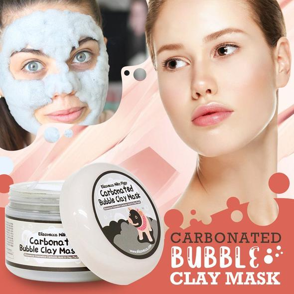 🔥BUY MORE SAVE MORE🔥Carbonated bubble oil control moisturizing deep cleansing mud mask