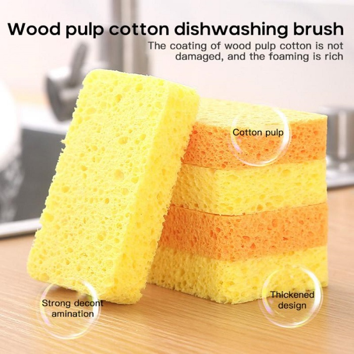 (Buy 1 Get 1 Free) Wood pulp sponge brush
