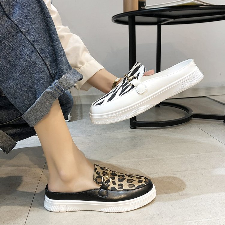 Summer new style comfortable soft half slippers