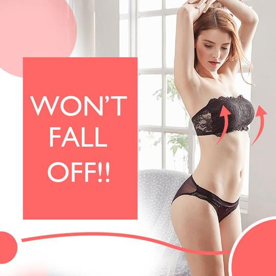 🎀【BUY MORE SAVE MORE】🎀-Lacey Tube Bra