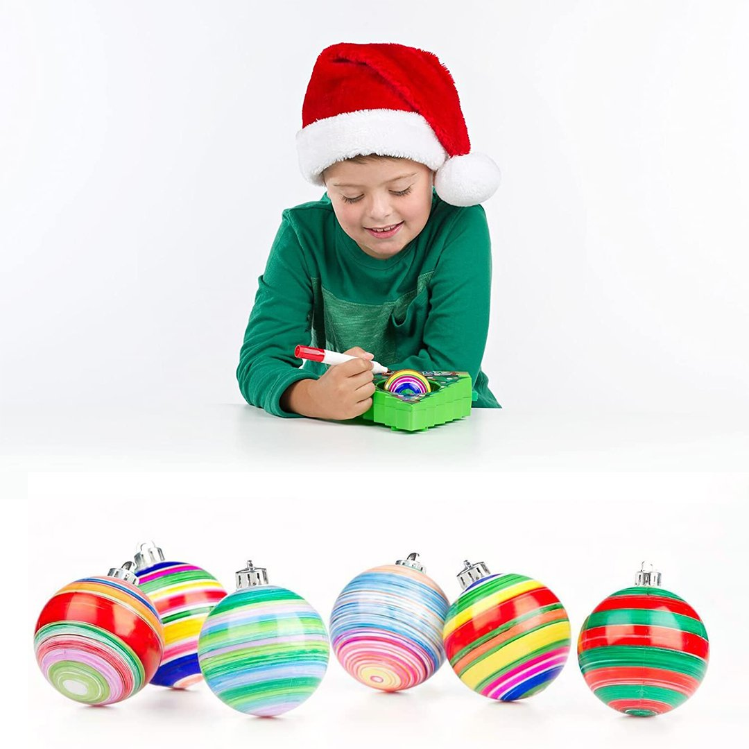 DIY Kit Christmas Tree Ornament Ball