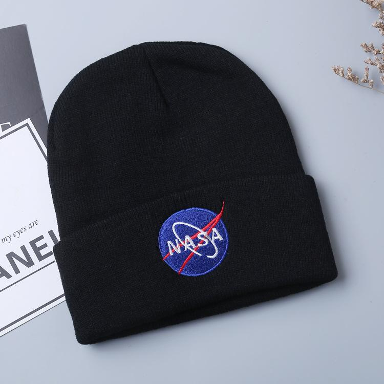 Nasa Juice Wrld Knitted Beanie Hats