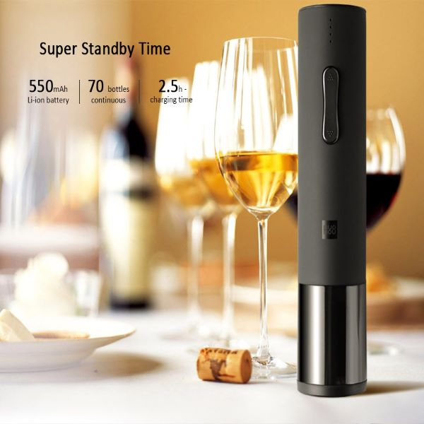 (🔥SUMMER HOT SALE-50% OFF)Electric Wine Bottle Opener--Buy 2 Get 10% & Free Shipping