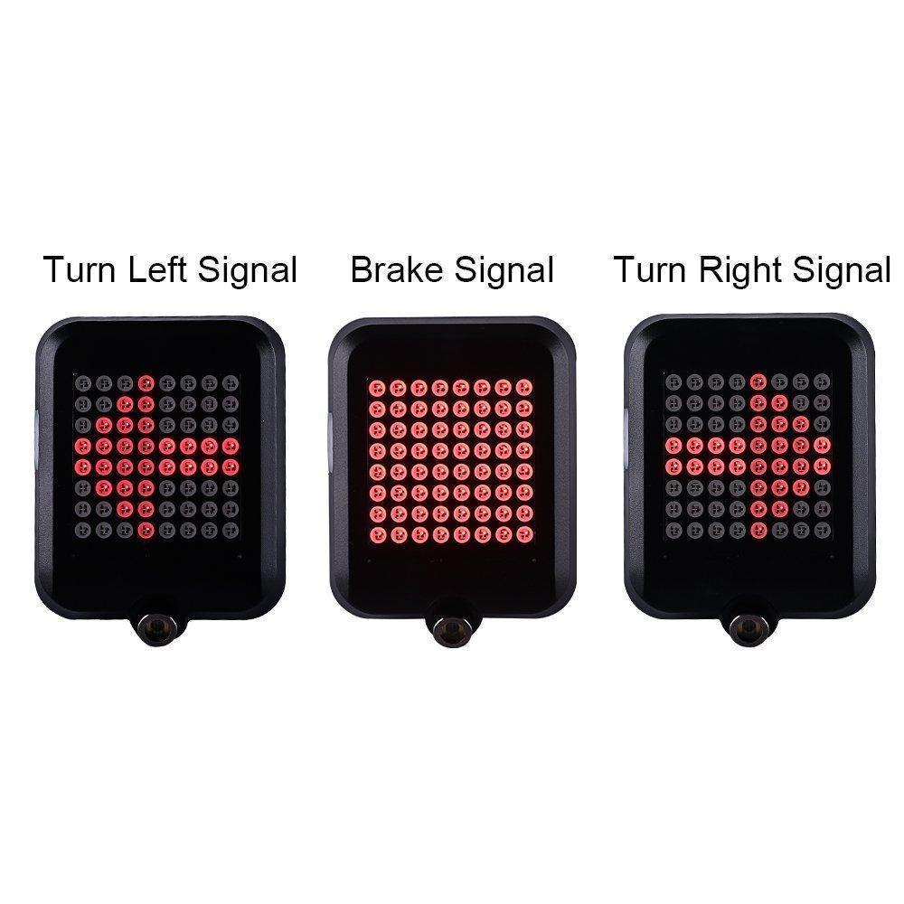 Intelligent LED Bicycle Turn Signal Lights