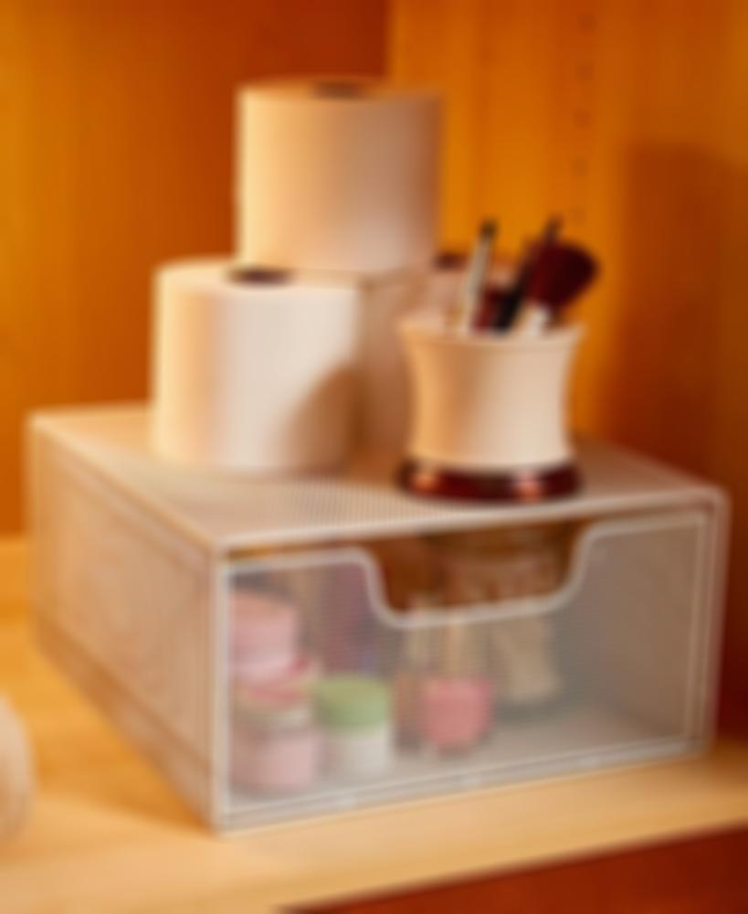Cabinet Organizer with Pull-Out Basket