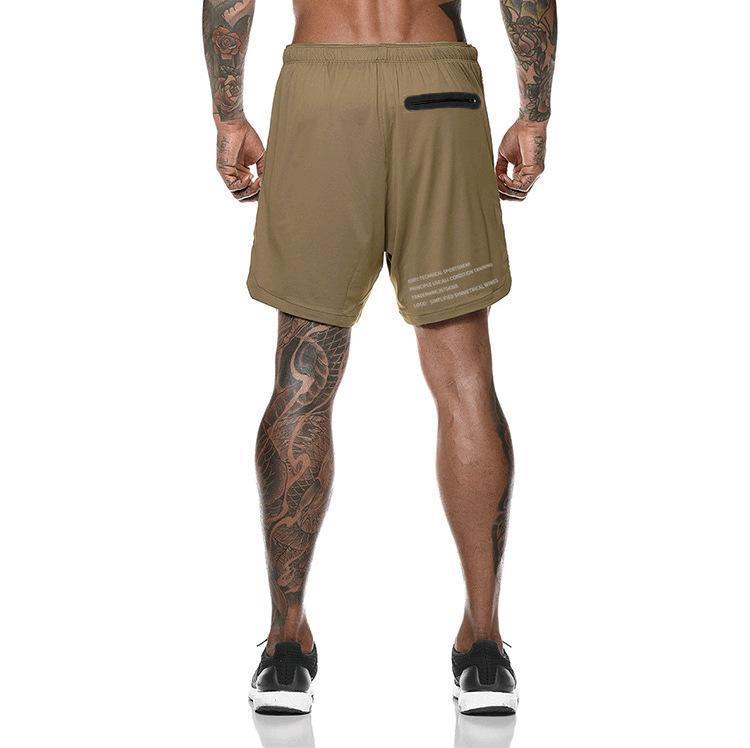 BUY 2 FREE SHIPPING-2020 Men's 2 in 1 New Summer Secure Pocket Shorts