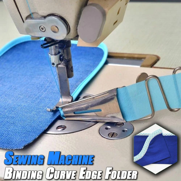 💥Early Summer Hot Sale 50% OFF💥 Sewing Machine Binding Curve Edge Folder, Buy 2Get Extra 10% OFF