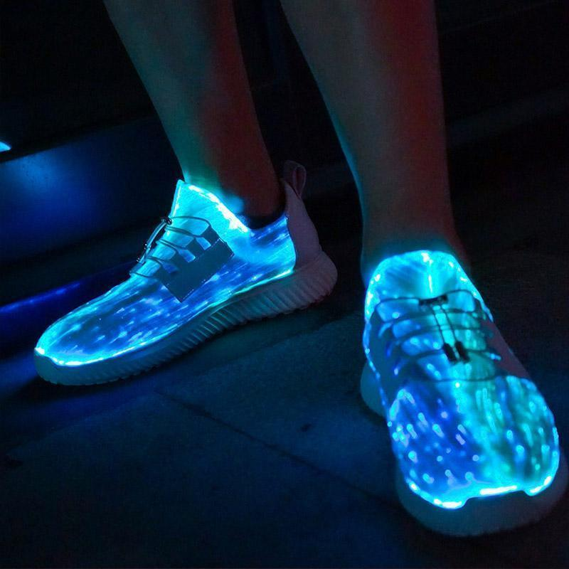 (Last Day Promotion&60% OFF)Wsnd Pros™ LUMINOUS FIBER OPTIC SHOES - Free shipping