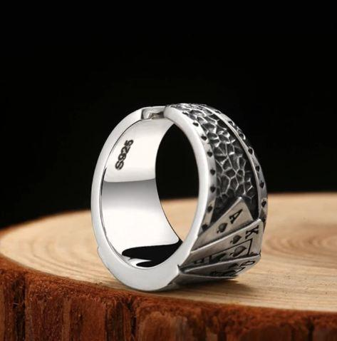 50% OFF Universal Adjustable Poker Ring, Buy More Save More