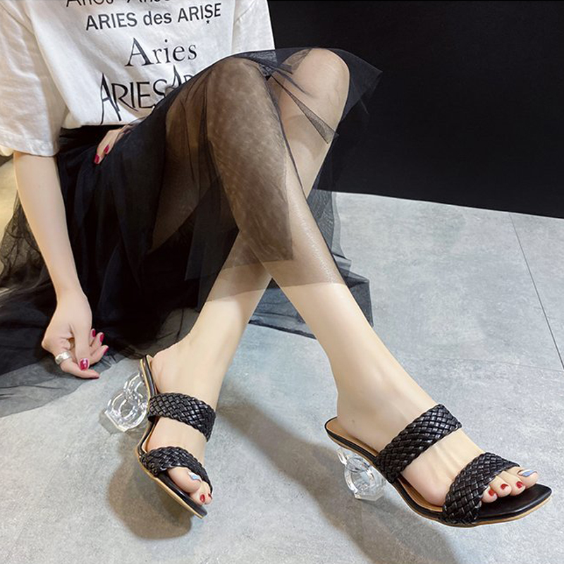 New comfortable woven sandals