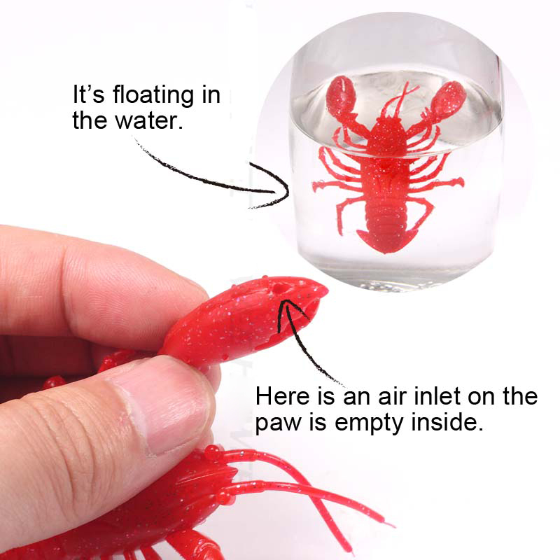 Artificial Lobster Fishing Lure