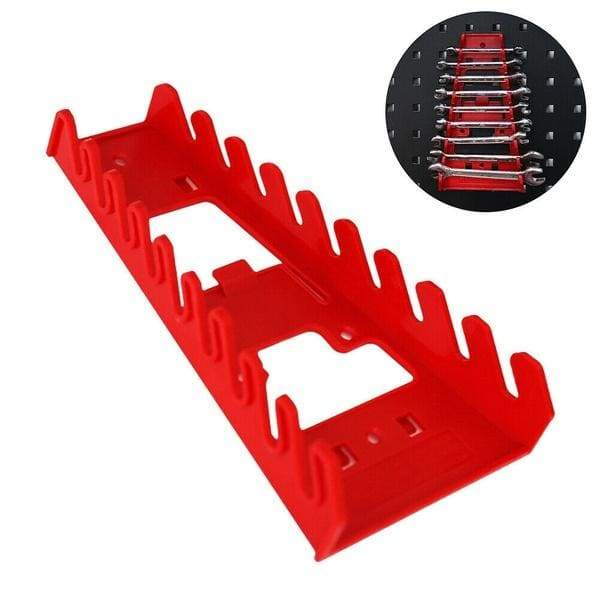 Wrench Organizer Tray Sockets Storage Tools Rack Sorter Standard Spanner Holders 22.2*12cm