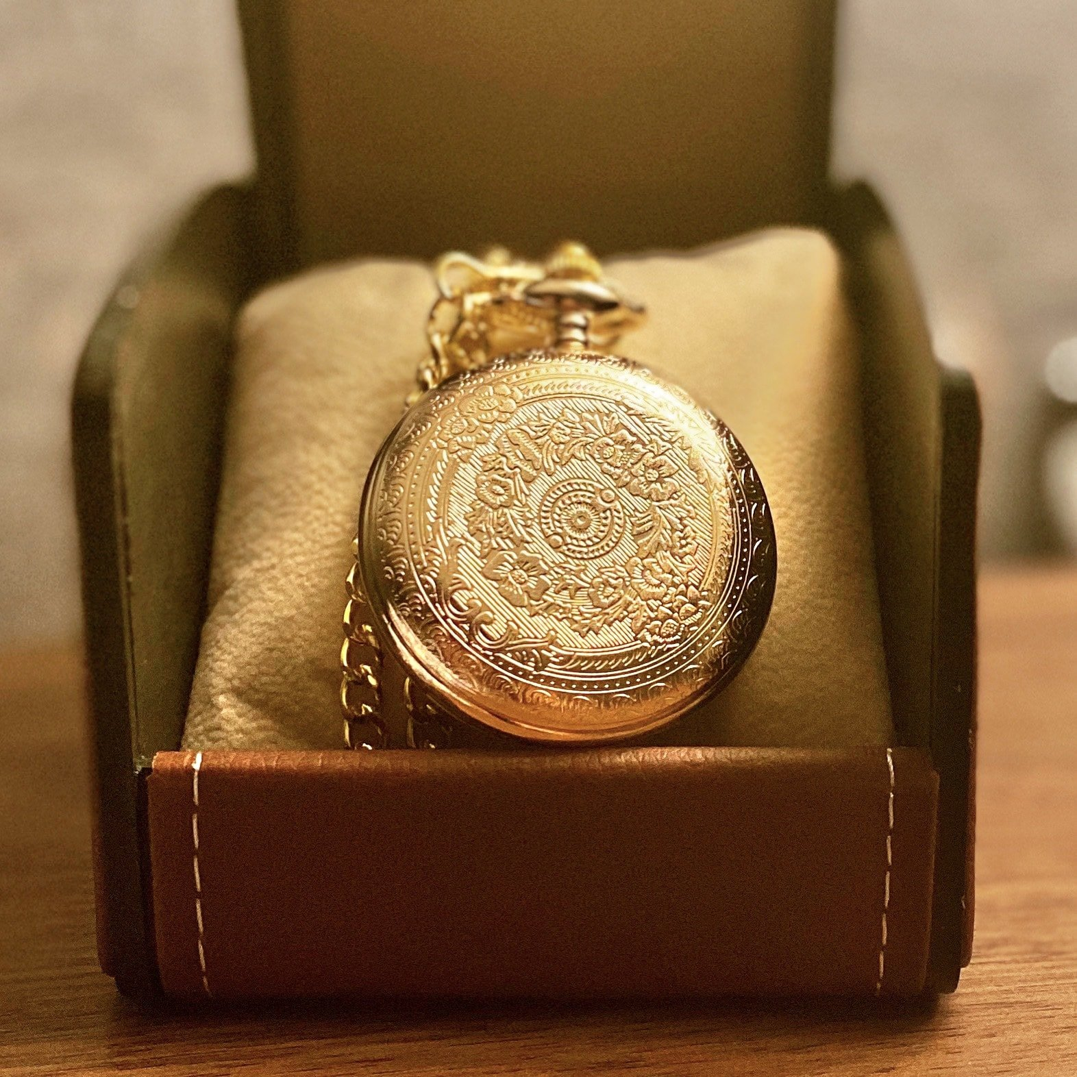 (🎄Early-Christmas Flash Sale🎄-48% OFF)To My Son Quartz Pocket Chain Watch(Buy 2 get FREE shipping)