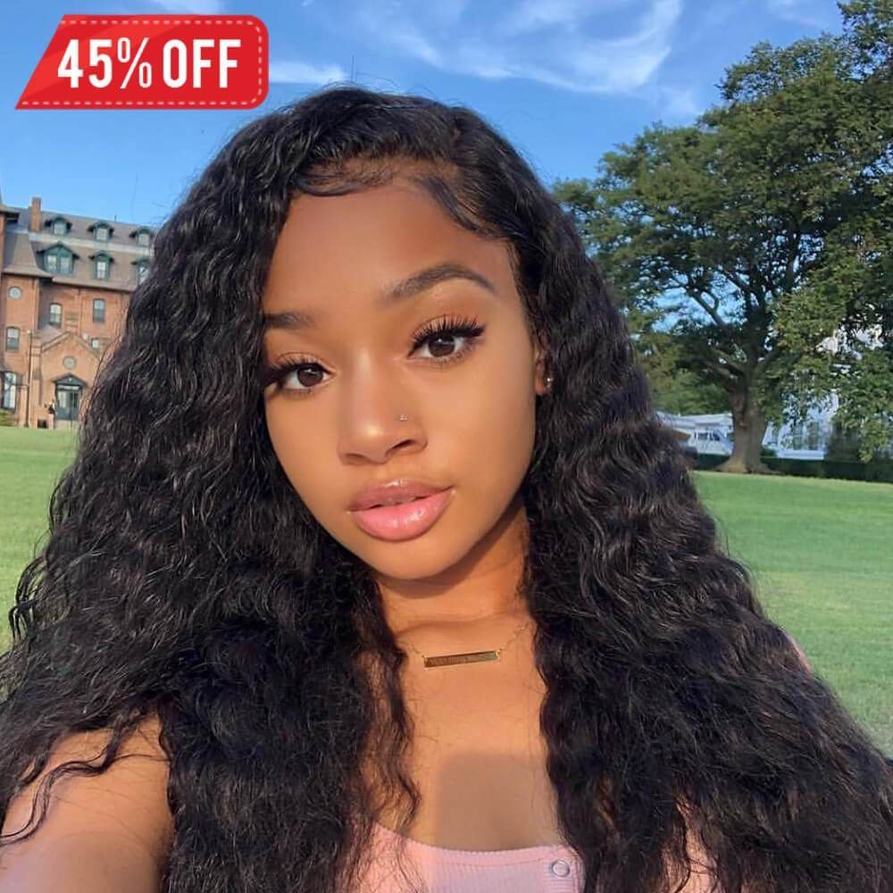 Lace Front Wigs Black Curly Hair White Human Hair Wigs 18 Inch Brazilian Weave 613 Full Lace Wig Human Hair