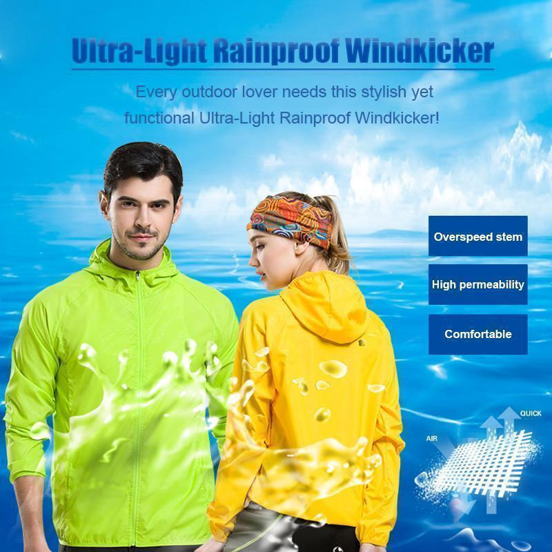 Ultra - Light Rainproof Windkicker