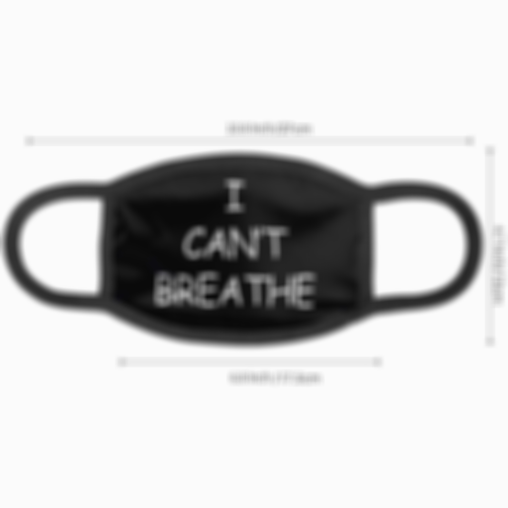 Arosetop【BUY 10 GET 10 FREE】I Can't Breathe Face Mask/Flag
