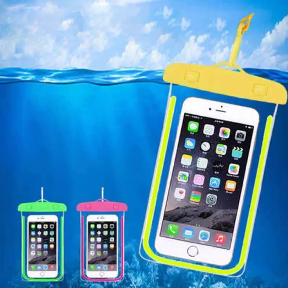 Cell Phone Fluorescent Waterproof Bags