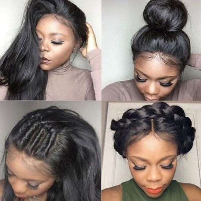 2020 New Straight Wigs Black Long Hair Wigs On Sale For African American Black Dreadlock Wig